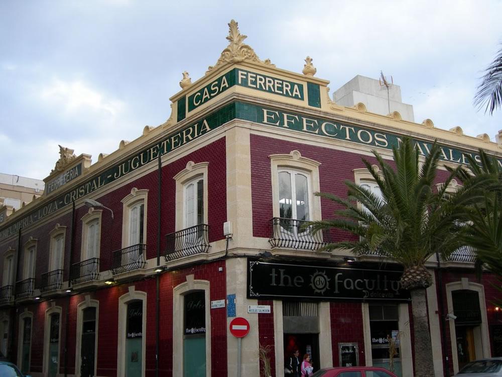 Sede del COA Almería