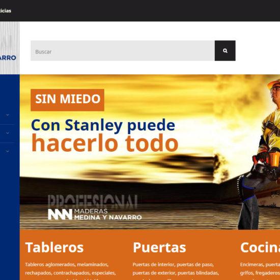 Maderas Medina y Navarro un cliente InPut Creativity
