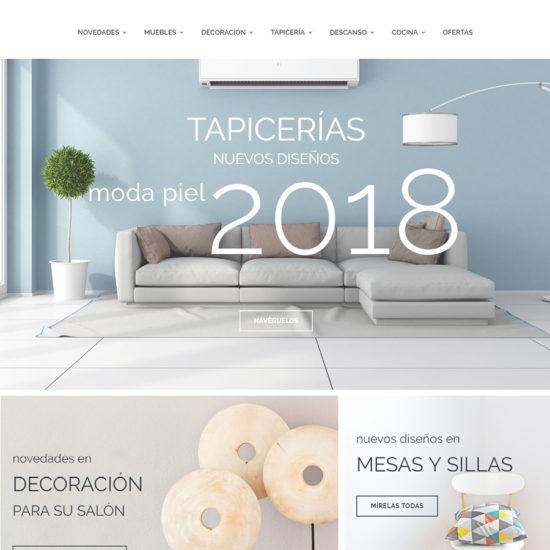 Nueva web para Muebles Hermanos Molina
